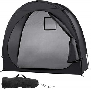 Blusea Bike Tent Bicycle Cover Shelter with Window Design