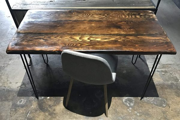 30 Best Reclaimed Wood Desk For Functionality