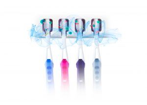 20 UV Toothbrush Sanitizer To Wipe Out Germs
