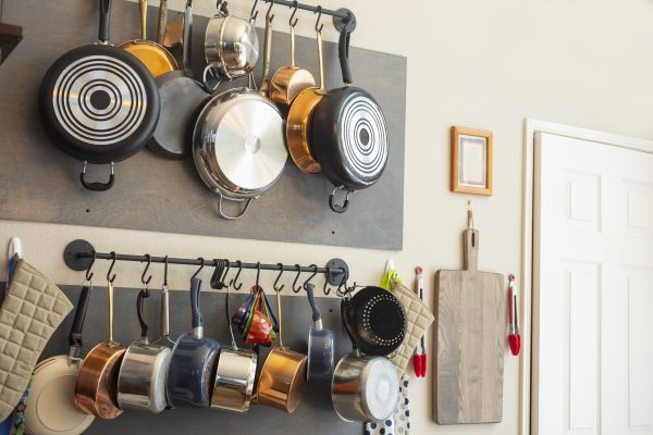 20 Best Hanging Pot Racks To Make Your Kitchen Clutter-Free