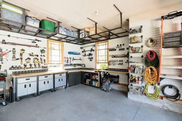 11 Massive Garage Wall Shelving and Storage Ideas